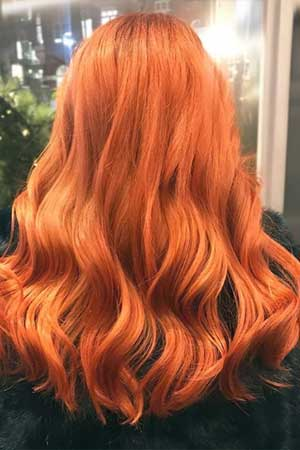 HAIR COLOUR CORRECTION AT GUSTO HAIR SALONS, SOHO AND COVENT GARDEN, LONDON