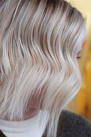 Blonde highlights & balayage experts in London at Gusto hairdressers
