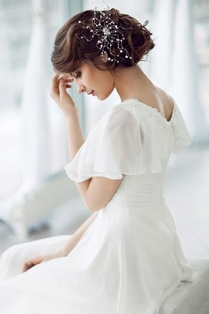 VINTAGE HAIRSTYLES FOR BRIDES AT BEST WEDDING HAIRDRESSERS IN CENTRAL LONDON