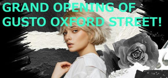 Gusto new shop banner