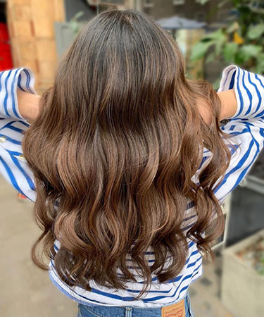 balayage for brides Central London hair salons