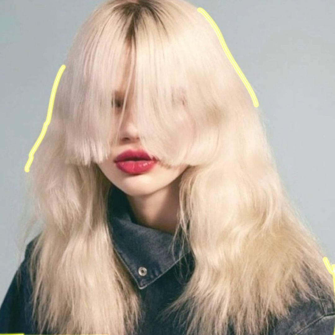 hairstyles with fringes at Gusto hair salon Oxford Street, Central London