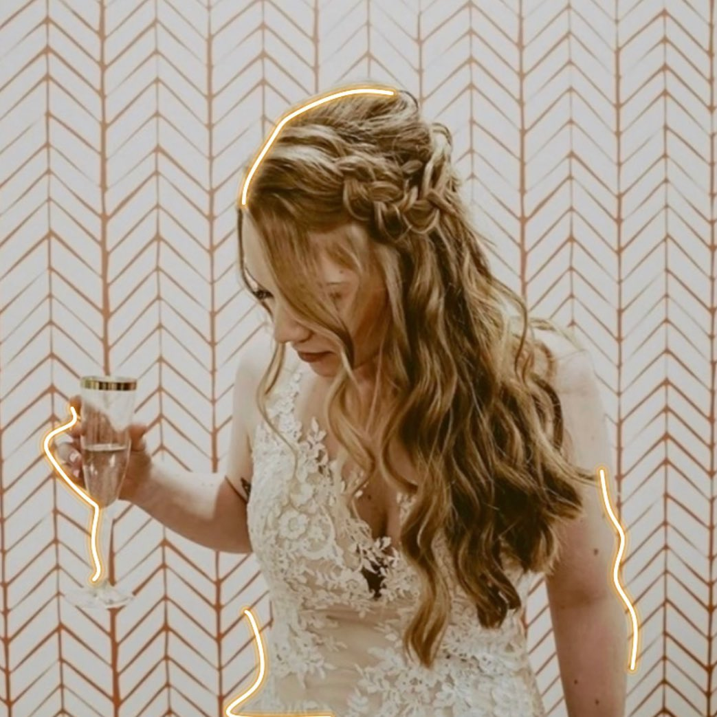 Hairstyles for Millennial Brides