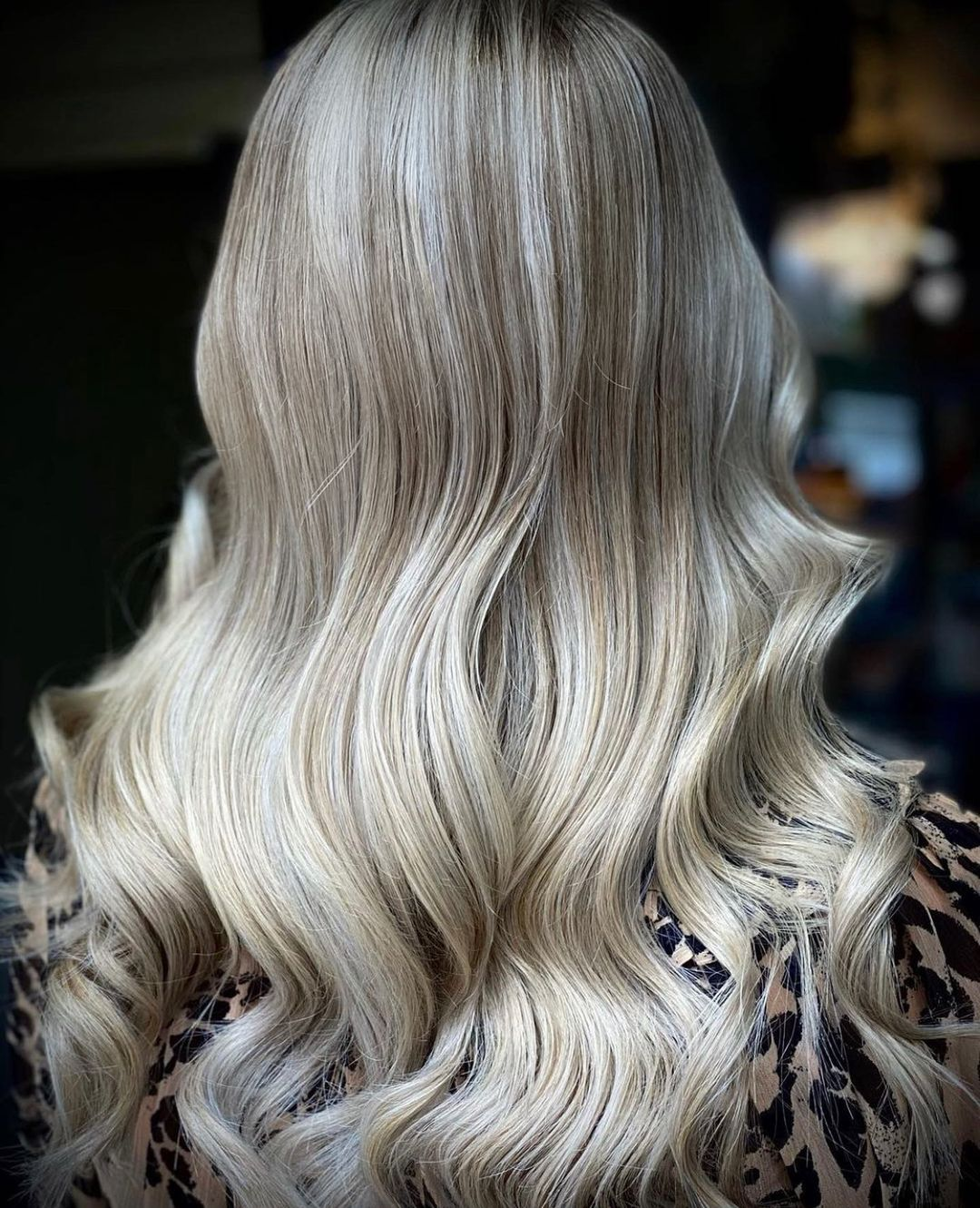 Platinum Blonde Hair Colour at Top Oxford Street Hairdressers